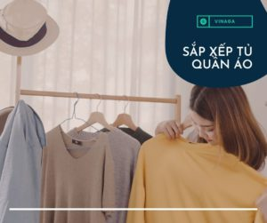 Điều 2: Sắp xếp tủ quần áo